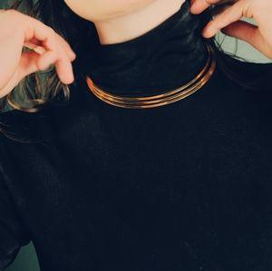 VTG Gold Three Band Collar